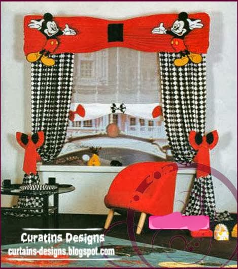 Contemporary Curtain Designs For Children Room Babies Girls