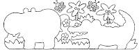 hipopótamo,jacAtividades com: FIGURA FUNDO, COMPLETAR A FIGURA e COMPLETAR A SEQUÊNCIA.educação infantil,anos iniciais,coordenação motora finaaré,