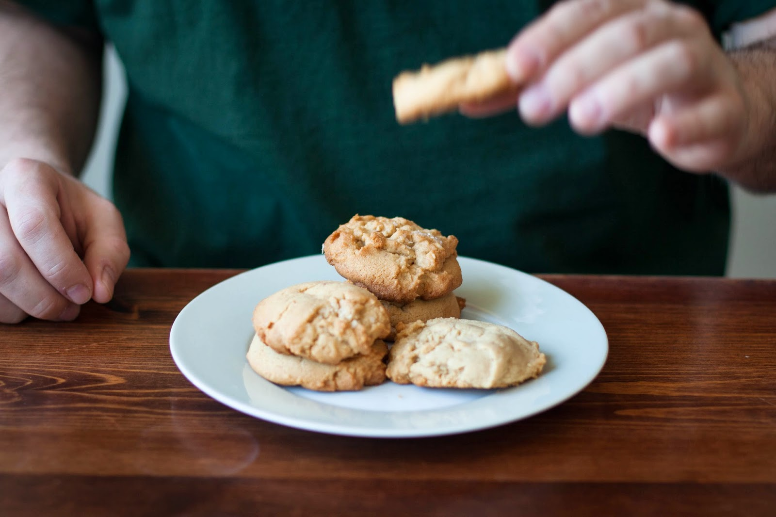 Buttered Up: Peanut Butter Sandies