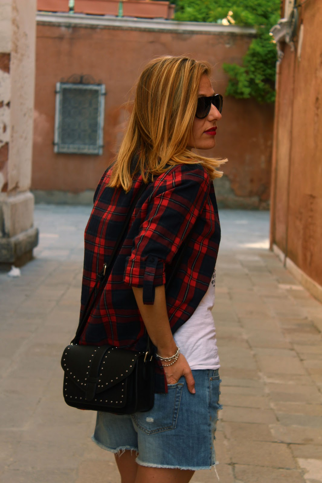 Eniwhere Fashion - Plaid shirt - Venezia