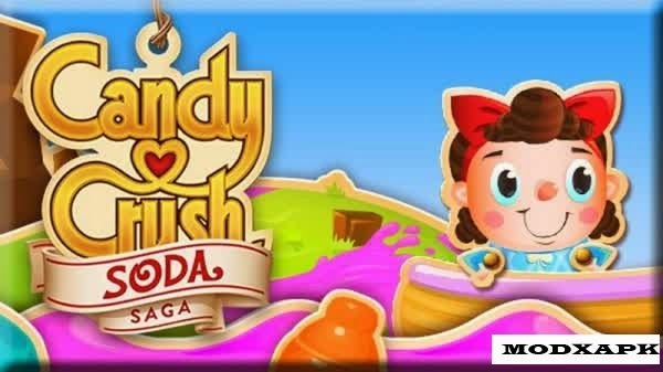 Candy Crush Soda Saga 1.31.31 MOD Apk Unlimited Lives / Boosters
