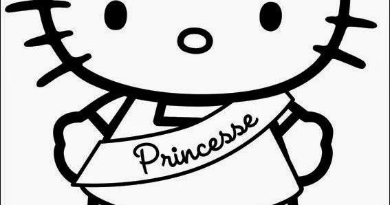 Coloriage hello kitty princesse en ligne coloriage princesse disney - Coloriage hello kitty en ligne ...