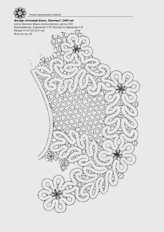 Вологодское кружево раскраска
