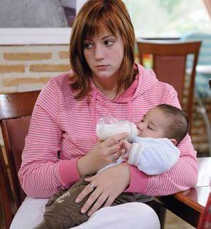 Madre adolescente y a diferencia