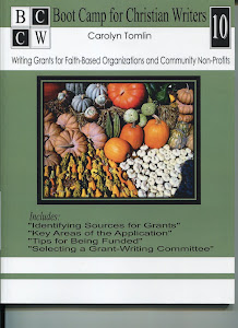 NEW Workbook! Writing Grants! (C. Tomlin)