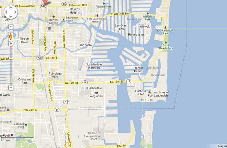 Broward College North Campus Map. Toggle Sat View With ...