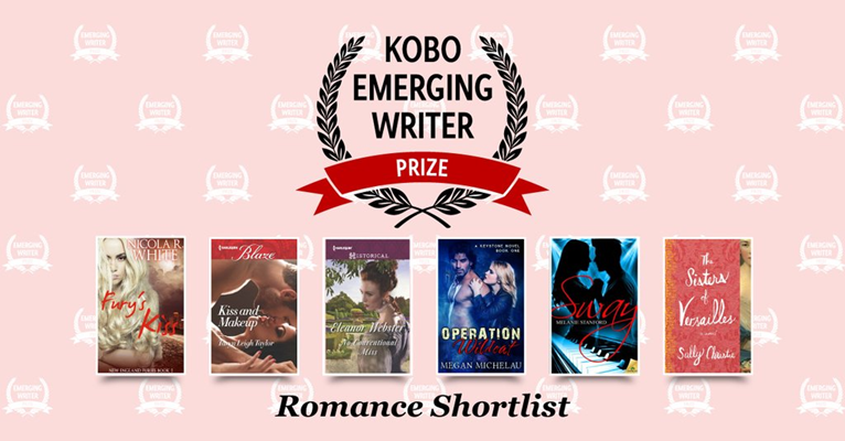 SWAY shortlisted for the Kobo Emerging Writer Prize