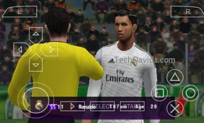 PES Apk Data Android Game Download