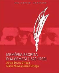 Memòria escrita d'Algemesí (1522-1930)