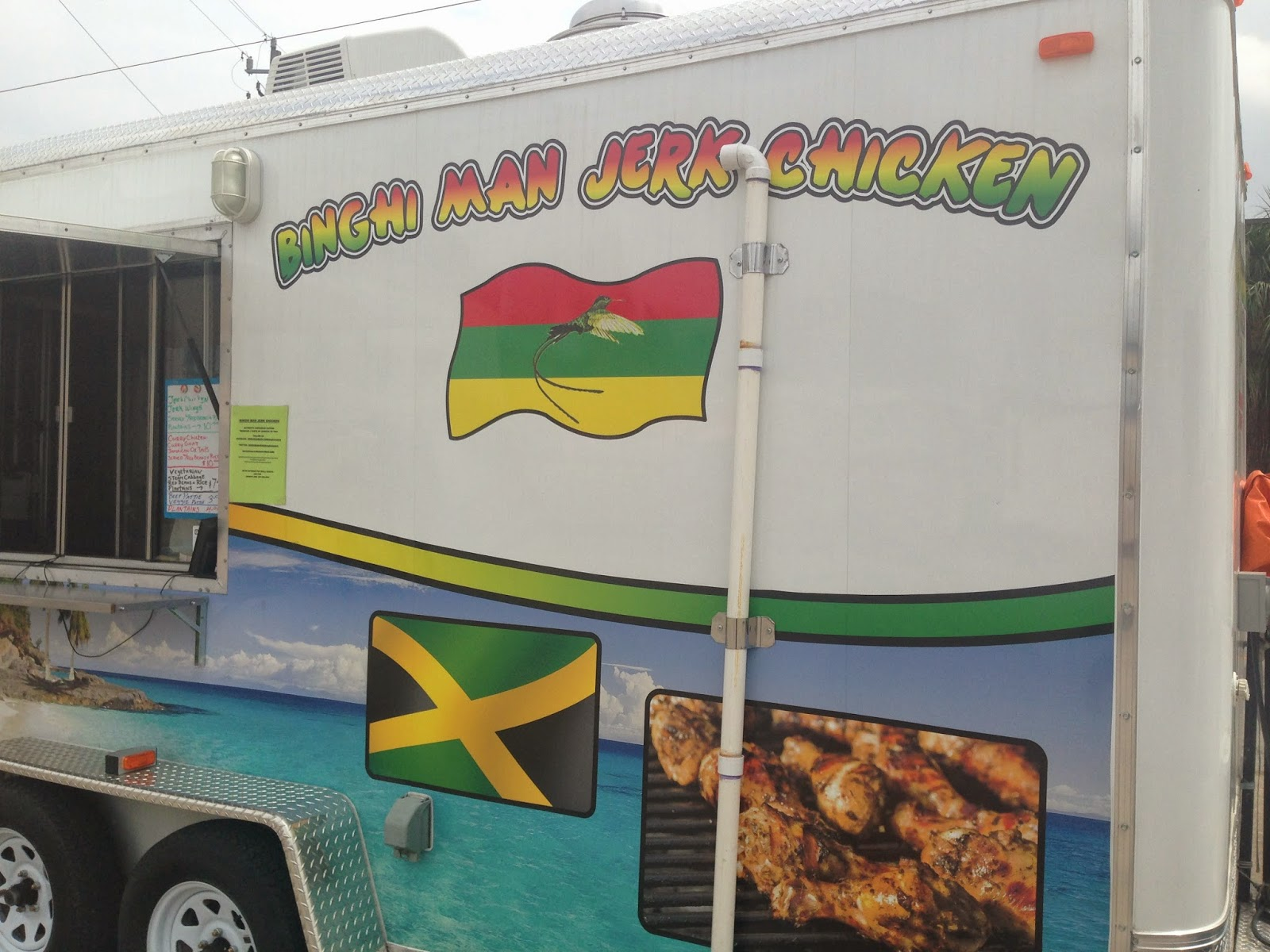 Binghiman Jerk, Food Truck Houston TX