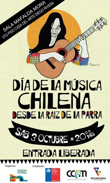 Blog de Puerto Montt  Día de la Música Chilena   Desde la Raíz de La Parra  - Puerto Montt c6b16228573