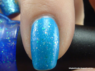 China Glaze Blue Hawaiian