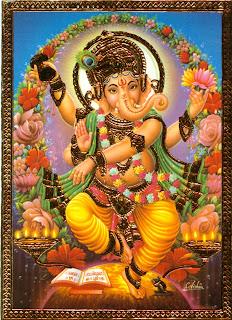 image for desktop background with ganesha god