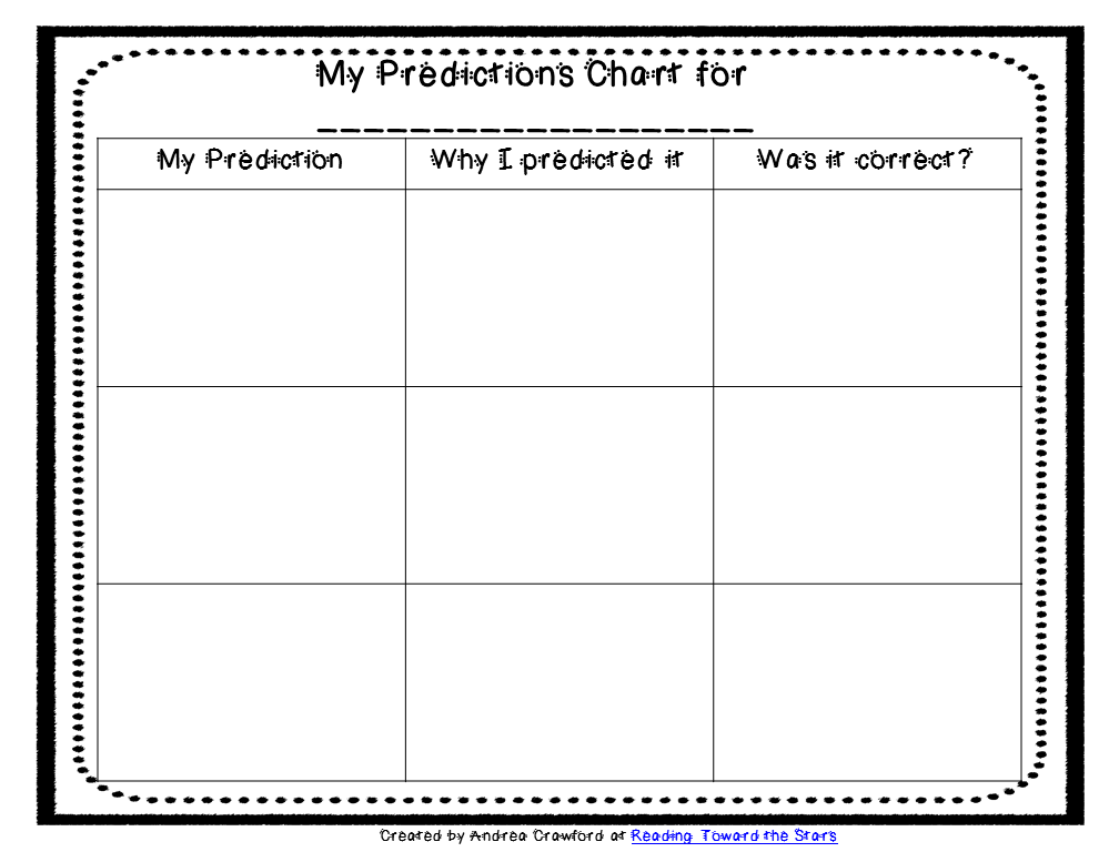 Making Predictions with Picture Books and a Freebie - This Literacy ...