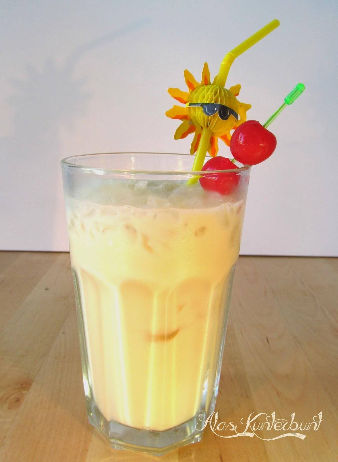 Pina Colada schnell gemixt - ein toller Cocktail für den Sommer | Ala's Kunterbunt