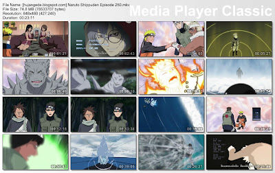 DOWNLOAD FILM ANIME NARUTO SHIPPUDEN EPISODE 250 SUBTITLE BAHASA INDONESIA
