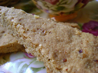 nutty shortbread