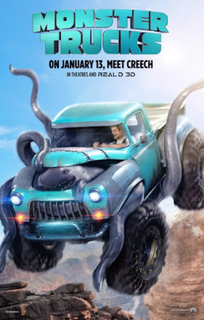 Poster Of Monster Trucks In Dual Audio Hindi English 300MB Compressed Small Size Pc Movie Free Download Only At worldfree4u.com