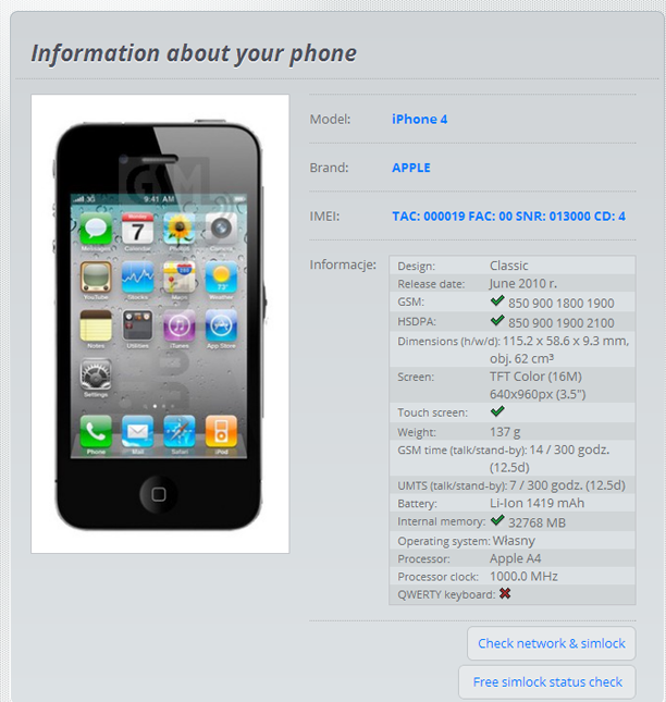 check if your iPhone is factory unlocked Online