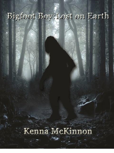 http://www.amazon.com/Bigfoot-Boy-Earth-Kenna-McKinnon-ebook/dp/B00GRIAF0Y/ref=sr_1_1?s=digital-text&ie=UTF8&qid=1385014173&sr=1-1&keywords=bigfoot+boy