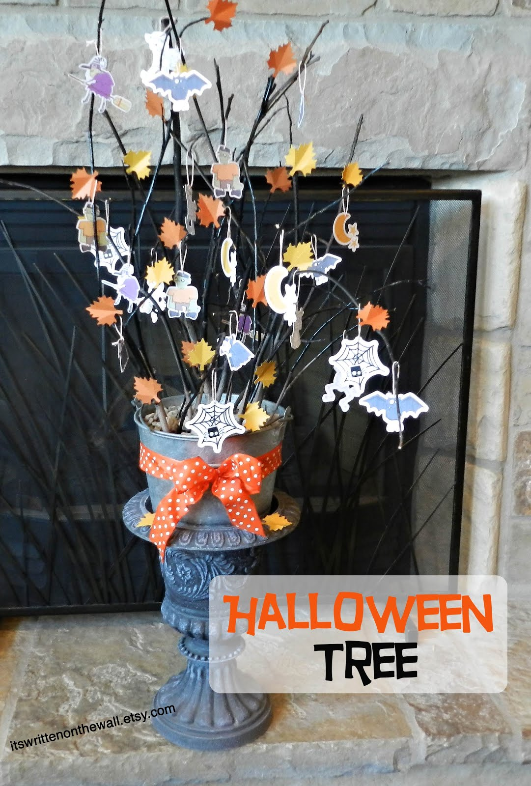 How to create a Halloween Tree!