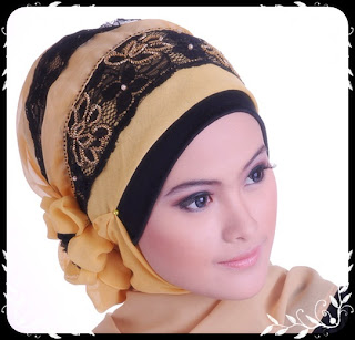 model jilbab pesta