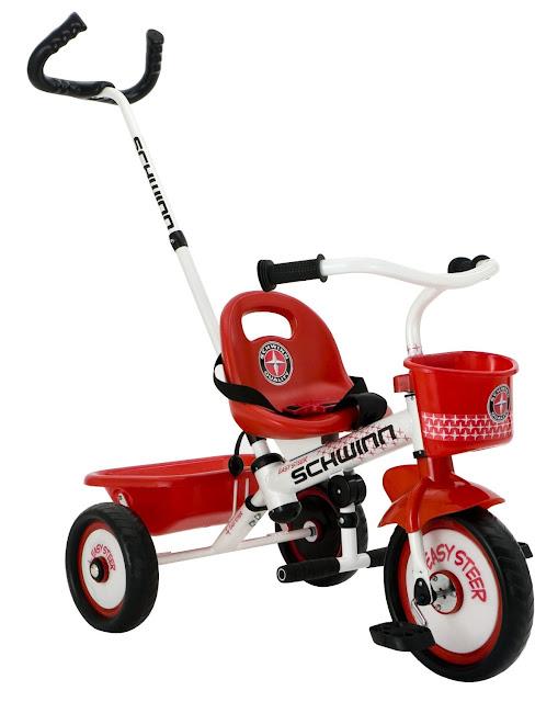 schwinn easy steer tricycle for kids