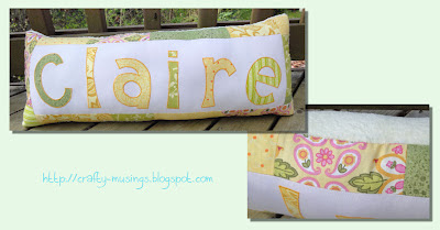 Claire pillow collage