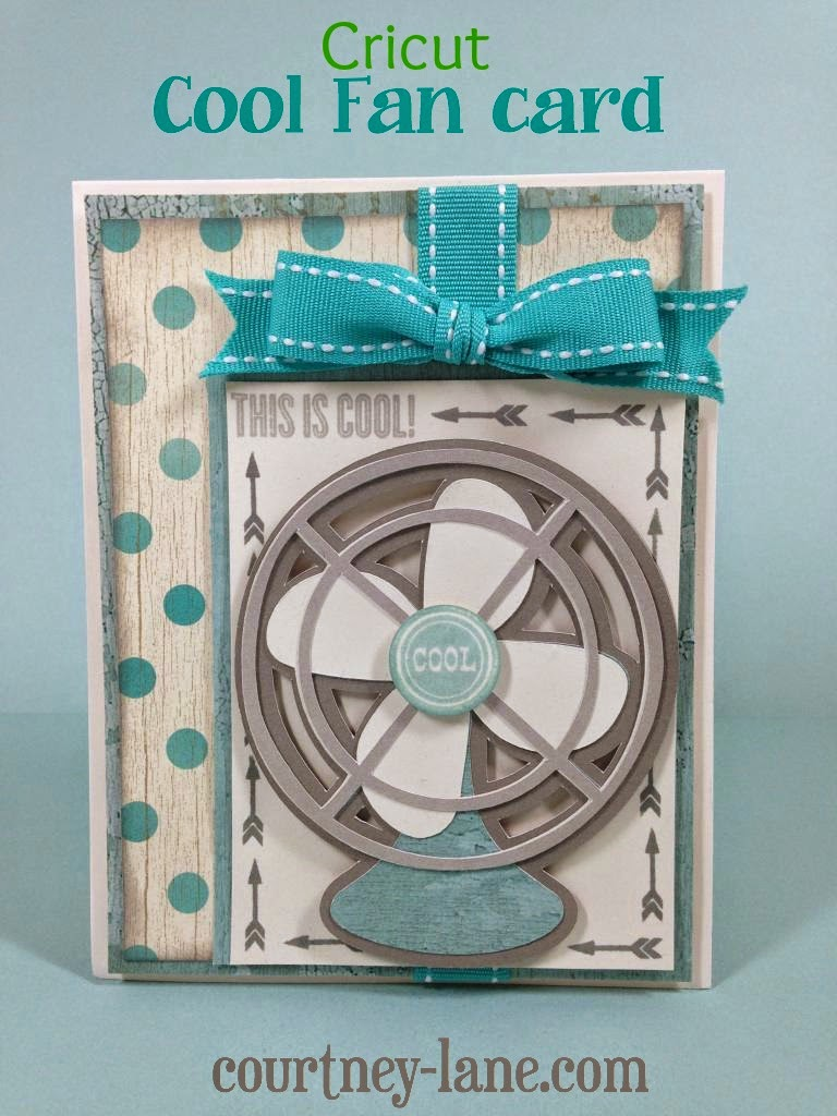 Cricut Cool Fan card