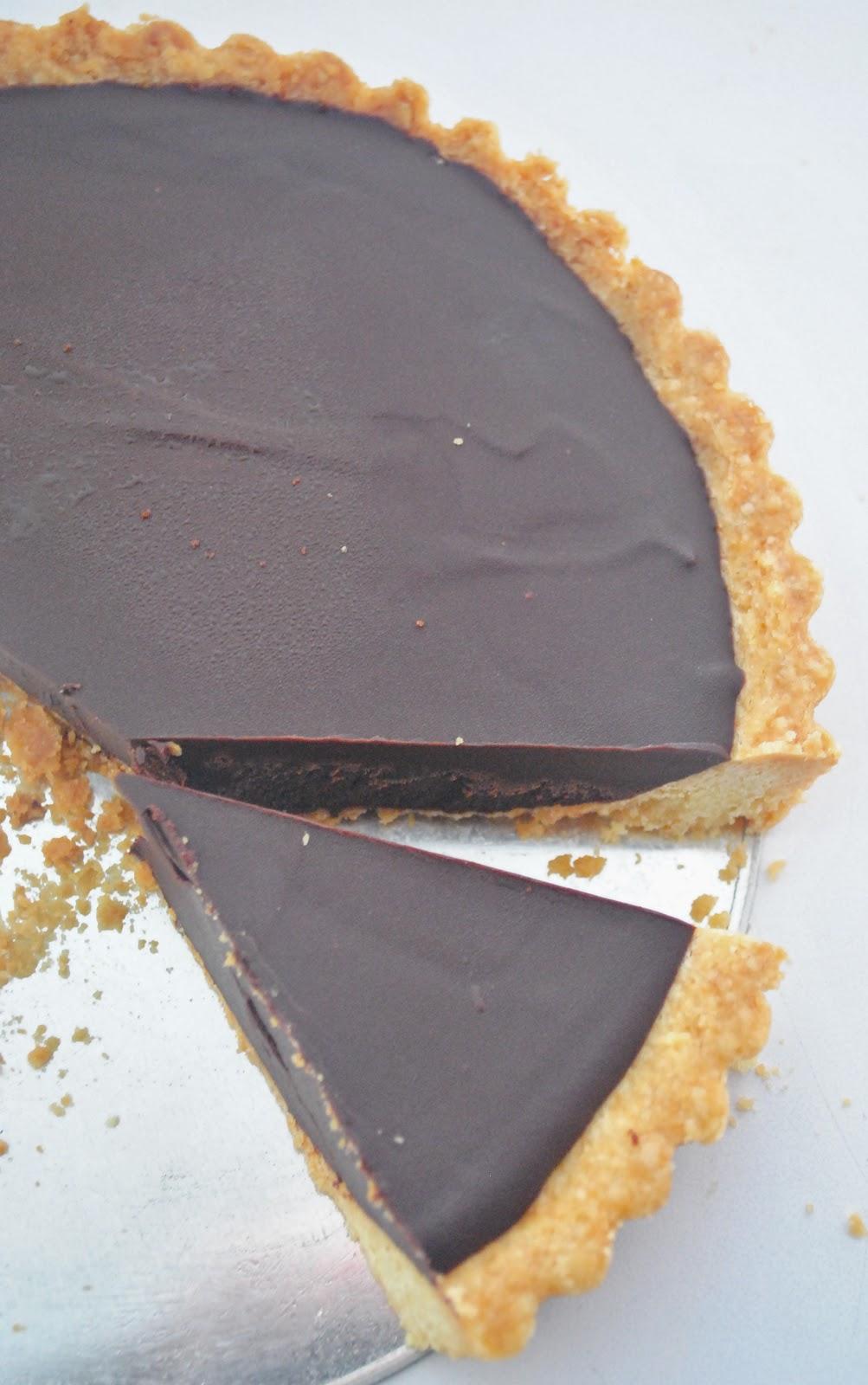 chocolate ganache tart makes one 7 tart pastry 1 1 4 cup all purpose ...