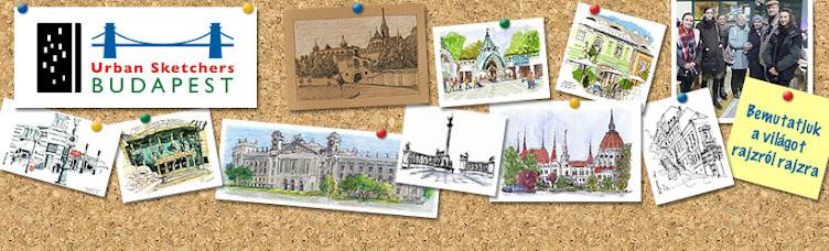 urban sketchers budapest