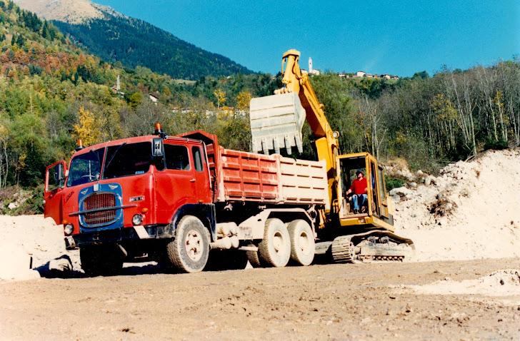 Camion d'epoca fiat 693 n1