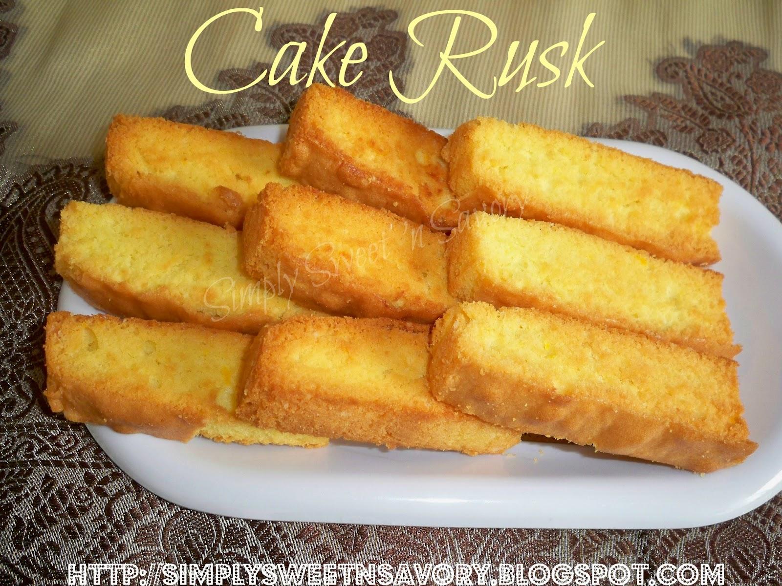 Cake Rusk Recipe Video