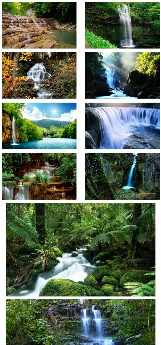 Waterfall Theme For Windows 7 And 8