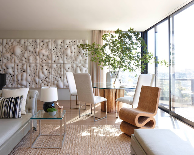 the style saloniste: modernist masterpiece: at home with designer