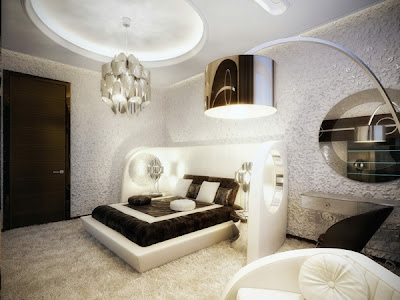 lindo dormitorio elegante
