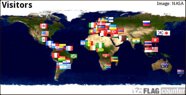 FLAG COUNTER DE RECEITAS E SEGREDOS DA COZINHA MINEIRA DESDE 29/02/2013