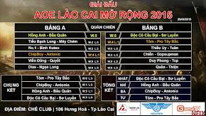 GameTV, Thái Bình du đấu giao hữu - AOE Lào Cai mở rộng 2015 tìm được nhà vô địch