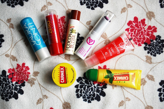 Wielki test pomadek | big lipbalm test