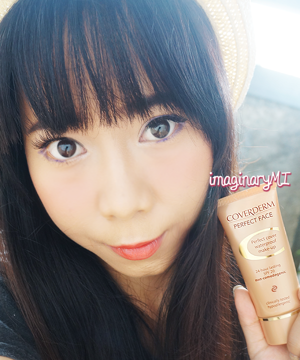 Beauty blogger Indonesia Raden Ayu coverderm perfect face 5A review