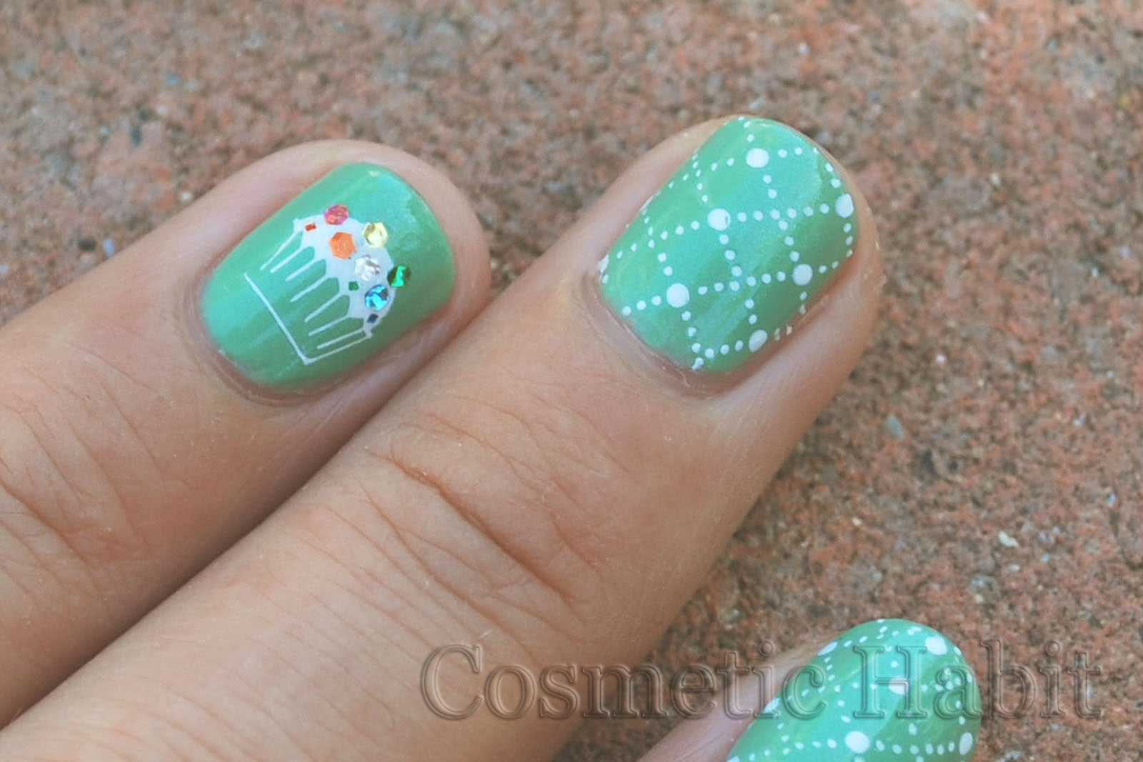 cupcake nail designs ideas-23