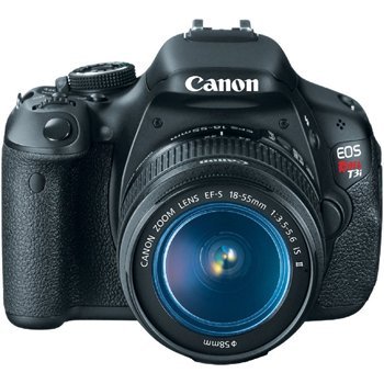 Canon EOS Rebel T3i Face