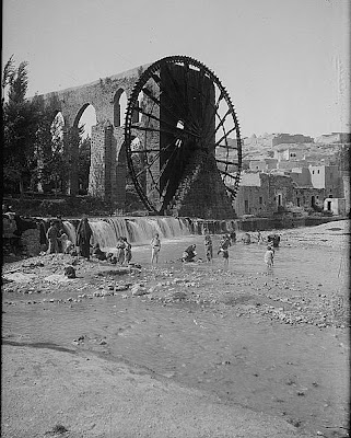hama water wheels essay The water wheel of hama the norias of hama are a number of norias (wheels  of pots) along the orontes river in the.