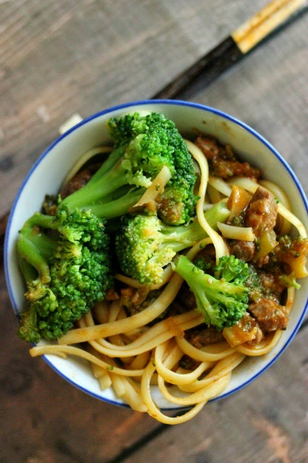Easy Weeknight Beef and Broccoli #Labels4Edu #Shop