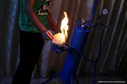 Pemuda Gaza Ciptakan Alat Pembangkit Listrik dan Gas Dari Air
