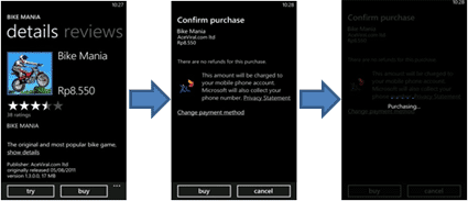 Windows Phone buy apps or games