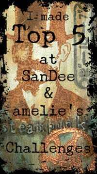 03/2018 Top 5 at SanDee & amelie's challenge blog