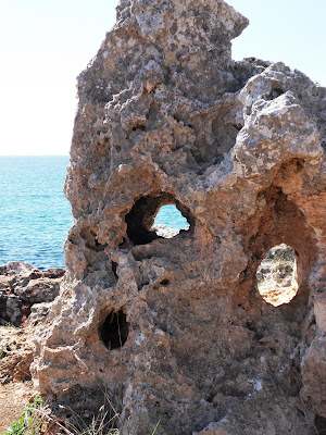 Strange rocks at S'Illot Mallorca