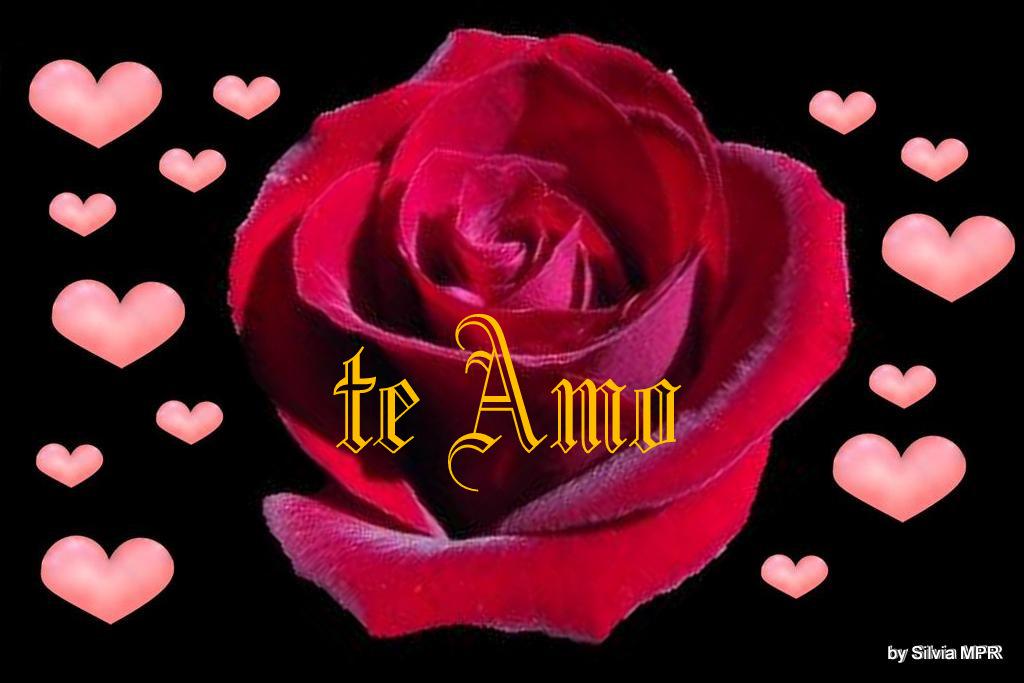 Imagenes Corazones Con Rosas - Imágenes de Amor con Movimiento Corazones Rosas