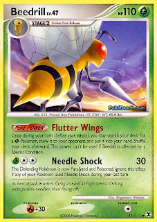Beedrill Pokemon Card Rising Rivals Set